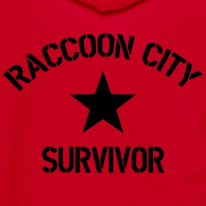 Raccoon City Survivor - Unisex Fleece Zip Hoodie by American Apparel