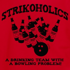 Strikoholics Bowling Shirt - Unisex Fleece Zip Hoodie by American Apparel