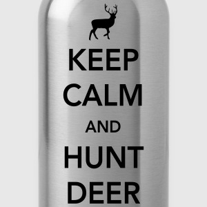 Keep calm and hunt deer T-Shirts - Water Bottle
