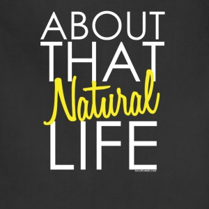 About that Natural Life Long Sleeve Shirts - Adjustable Apron