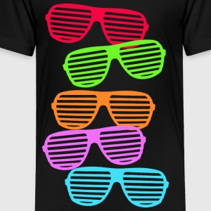 Retro Sunglasses Kids' Shirts - Toddler Premium T-Shirt