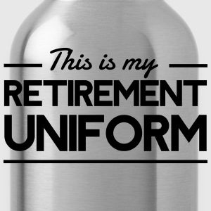 This is my retirement uniform T-Shirts - Water Bottle