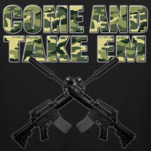 Come and Take Em T-Shirts - Men's Premium Tank
