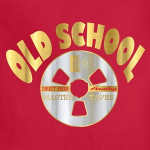 old school music T-Shirts - Adjustable Apron