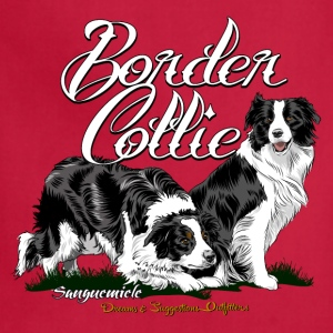 border_collie T-Shirts - Adjustable Apron