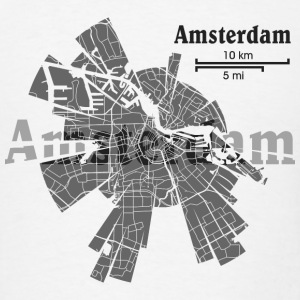 Amsterdam Hoodies - Men's T-Shirt