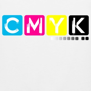 CMYK Women's T-Shirts - Men's Premium Tank