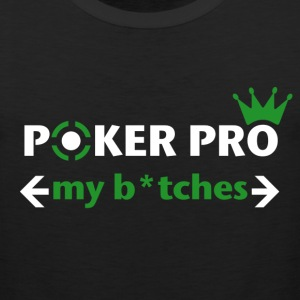 poker pro graphic T-Shirts - Men's Premium Tank