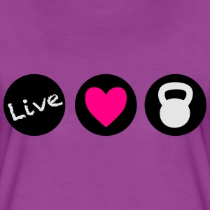 live love lift circles for crossfit  Baby & Toddler Shirts - Women's Premium T-Shirt
