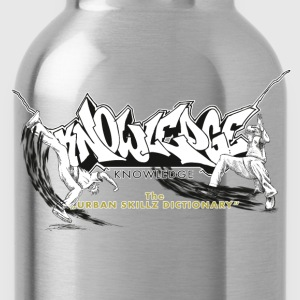 KNOWLEDGE - the urban skillz dictionary - promo sh T-Shirts - Water Bottle