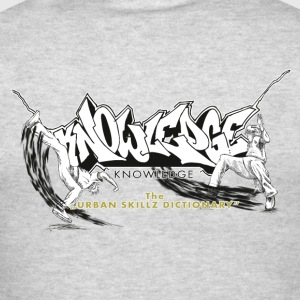 KNOWLEDGE - the urban skillz dictionary - promo sh Hoodies - Men's T-Shirt