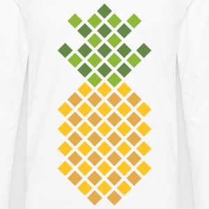 Pineapple Buttons - Men's Premium Long Sleeve T-Shirt