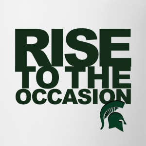 MSU Rise to the Occasion Spartans - Coffee/Tea Mug