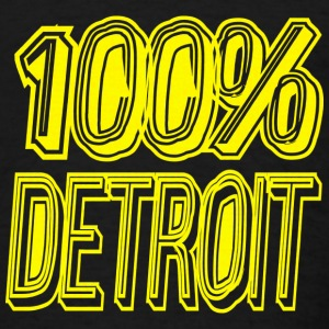 100 Detroit Long Sleeve Shirts - Men's T-Shirt