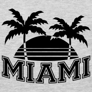 Miami Florida Palms T-Shirts - Men's Premium Long Sleeve T-Shirt