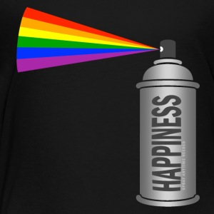 happiness spray can rainbow Kids' Shirts - Toddler Premium T-Shirt