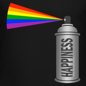 happiness spray can rainbow Sweatshirts - Toddler Premium T-Shirt