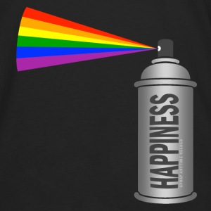 happiness spray can rainbow Bags & backpacks - Men's Premium Long Sleeve T-Shirt