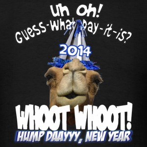 Hump Day Camel 2014 New Years Eve Party T-shirt - Men's T-Shirt