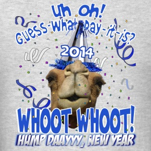 Hump Day Camel 2014 New Years Eve Party Hoodie - Men's T-Shirt