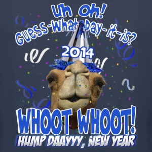 Hump Day Camel 2014 New Years Eve Party T-shirt - Men's Premium Tank