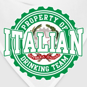 Property of Italian Drinking Team T-Shirts - Bandana