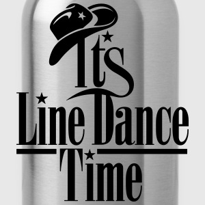 ITS LINE DANCE TIME, COWBOY HAT Caps - Water Bottle