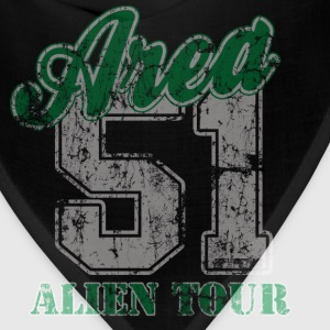 Area 51 Tour Hoodies - Bandana