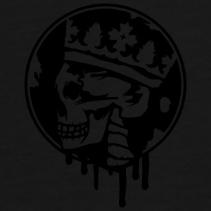 Skull with a crown Bags & backpacks - Men's Premium T-Shirt