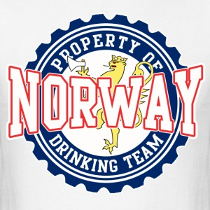 Property of Norway Drinking Team Hoodies - Men's T-Shirt