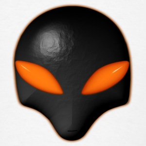 Alien Bug Face - Orange Eyes  - Men's T-Shirt