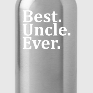 Best Uncle Ever. T-Shirts - Water Bottle
