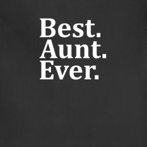 Best Aunt Ever Long Sleeve Shirts - Adjustable Apron