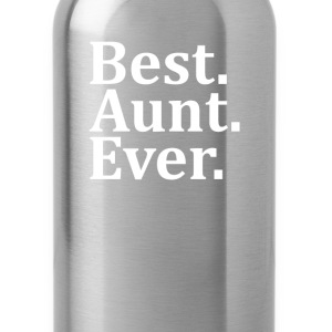 Best Aunt Ever Long Sleeve Shirts - Water Bottle