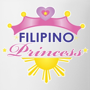 Funny Damit Filipino Princess Kids' Shirts - Coffee/Tea Mug