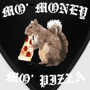 Funny Squirrel - ' Money ' Pizza - Bandana