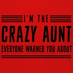 I'm the crazy aunt everyone warned you about Women's T-Shirts - Women's Premium Long Sleeve T-Shirt