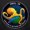 NROL-39 Nothing is Beyond Our Reach NRO Octopus T-Shirts - Men's T-Shirt by American Apparel