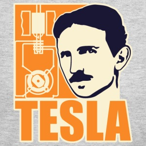 Researchers and developers: Tesla + electric motor T-Shirts - Women's Long Sleeve Jersey T-Shirt