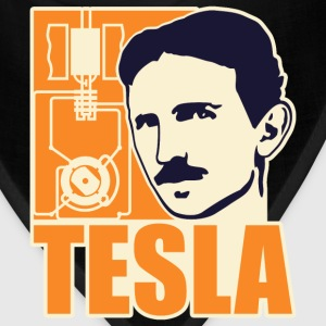 Researchers and developers: Tesla + electric motor T-Shirts - Bandana