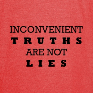 Inconvenient Truths Bags & backpacks - Vintage Sport T-Shirt