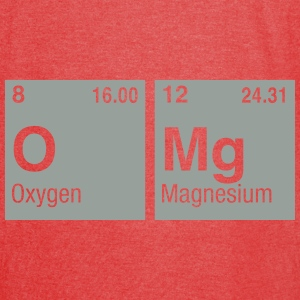 OMg written with Elements of the Periodic Table Bags & backpacks - Vintage Sport T-Shirt