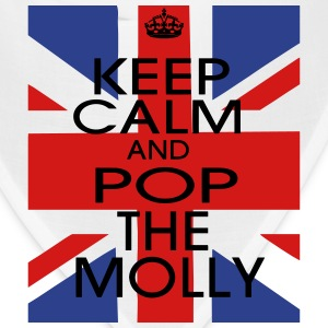 KEEP CALM AND POP THE MOLLY Long Sleeve Shirts - Bandana