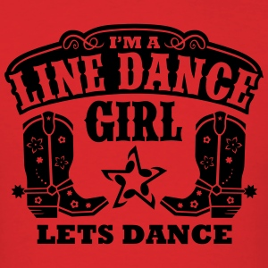 I'M A LINE DANCE GIRL Hoodies - Men's T-Shirt