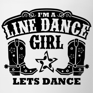 I'M A LINE DANCE GIRL Long Sleeve Shirts - Coffee/Tea Mug