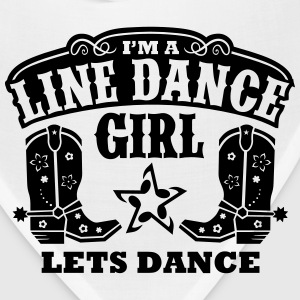 I'M A LINE DANCE GIRL Long Sleeve Shirts - Bandana