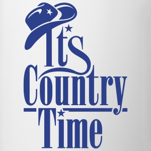 IT'S COUNTRY TIME Tanks - Coffee/Tea Mug