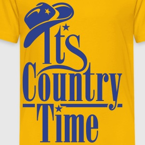 IT'S COUNTRY TIME Kids' Shirts - Toddler Premium T-Shirt