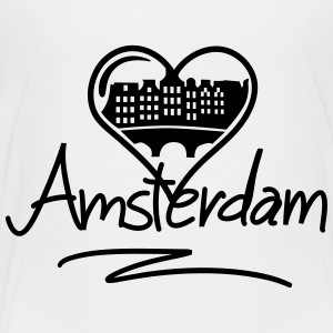 Amsterdam Heart Kids' Shirts - Toddler Premium T-Shirt