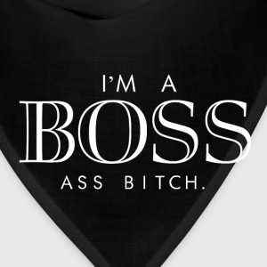 I'm a boss ass bitch Women's T-Shirts - Bandana